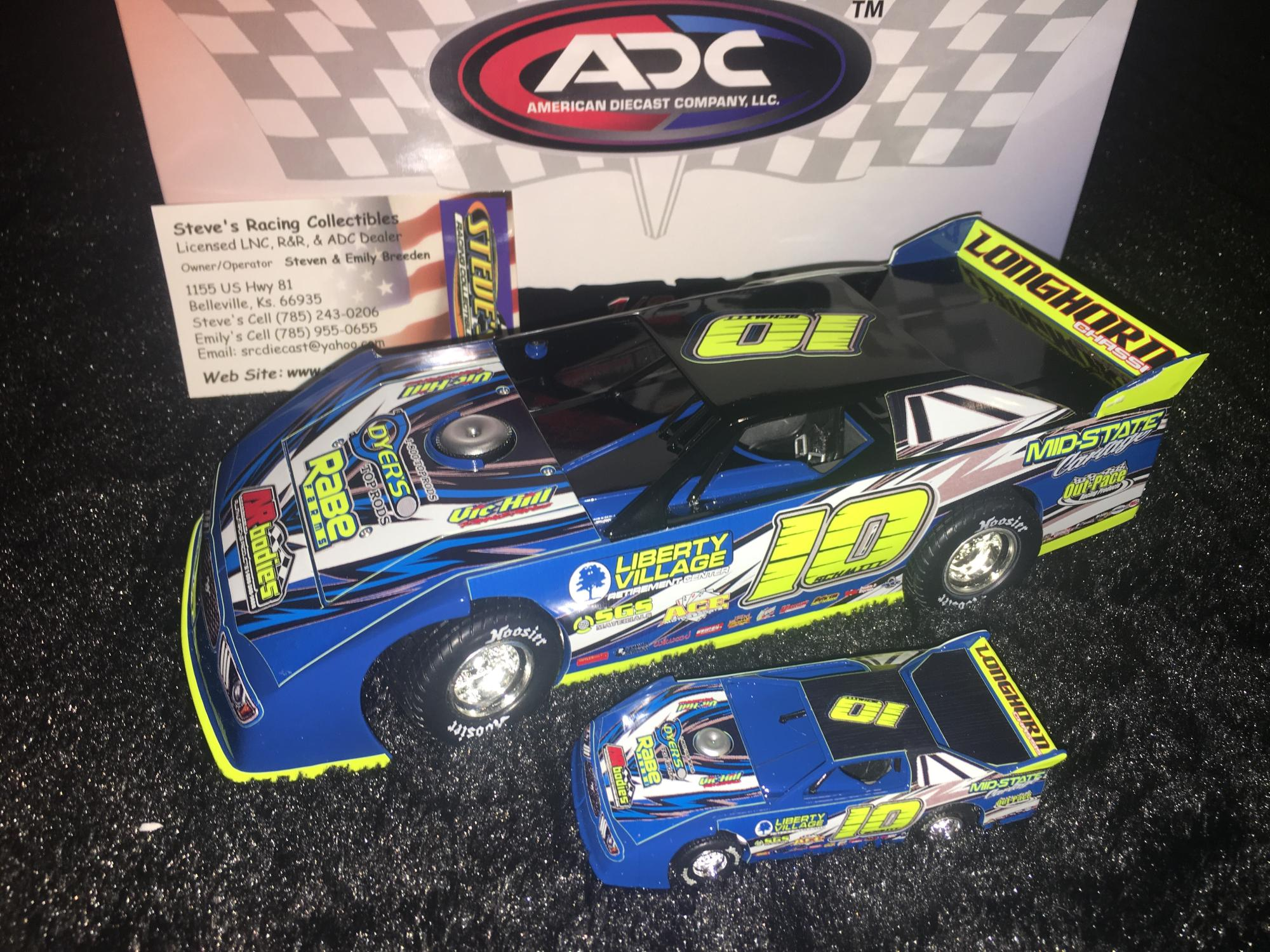 2018 ADC Dirt Late Models Diecast